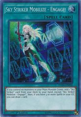 Sky Striker Mobilize - Engage! - DASA-EN030 - Secret Rare - 1st Edition