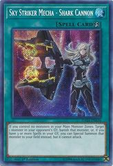 Sky Striker Mecha - Shark Cannon - DASA-EN036 - Secret Rare - 1st Edition