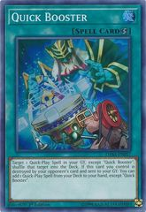 Quick Booster - DASA-EN057 - Super Rare - 1st Edition