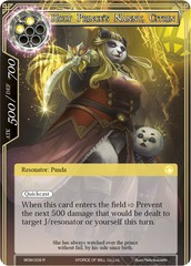 Holy Prince's Nanny, Citrin - WOM-009 - R on Channel Fireball