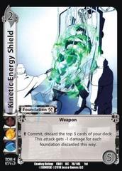 Kinetic Energy Shield
