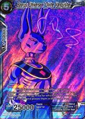 Beerus, Universe 7 Divine Vanquisher (SPR) - TB1-030 - SPR
