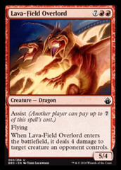 Lava-Field Overlord - Foil
