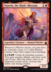 Najeela, the Blade-Blossom - Foil