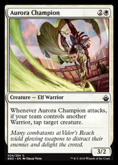 Aurora Champion on Channel Fireball