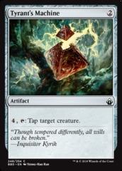Tyrant's Machine - Foil