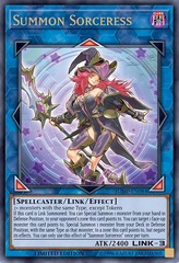 Summon Sorceress - JUMP-EN084 - Ultra Rare - Limited Edition