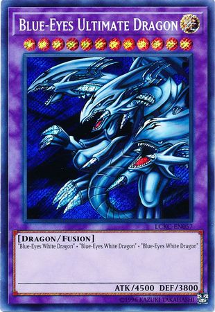Blue-Eyes Ultimate Dragon - LCKC-EN057 - Secret Rare - Unlimited Edition