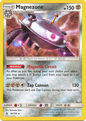 Magnezone - 83/156 - Rare - Non-Holo Theme Deck Exclusive