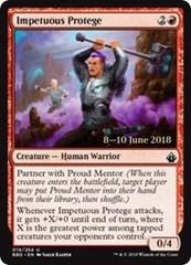 Impetuous Protege (M19 Prerelease Foil) 7-8 July 2018