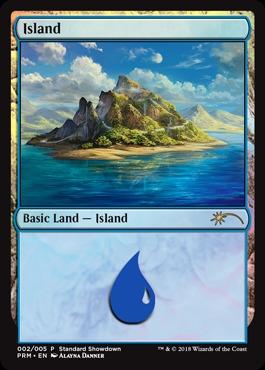 Island - Foil - 2018 Standard Showdown