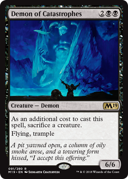 Demon of Catastrophes - Foil