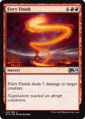 Fiery Finish - Foil