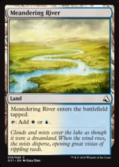 Meandering River on Channel Fireball
