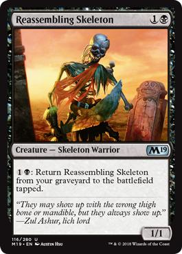 Reassembling Skeleton