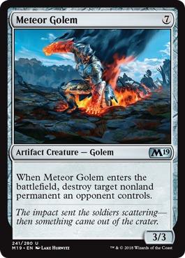 Meteor Golem - Foil