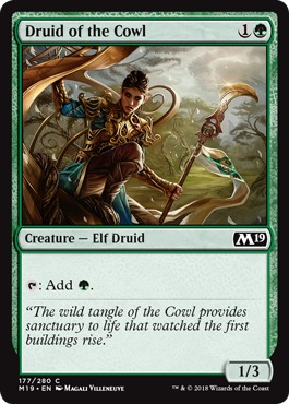 Druid of the Cowl - Foil
