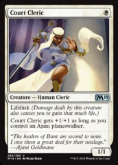 Court Cleric - Planeswalker Deck Exclusive