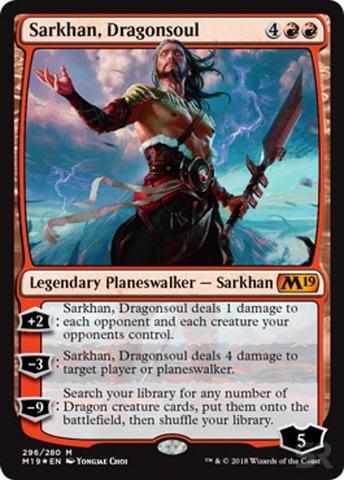 Sarkhan, Dragonsoul - Foil - Planeswalker Deck Exclusive