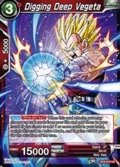 Digging Deep Vegeta (Foil) - BT4-010 - UC