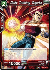 Daily Training Vegeta (Foil) - BT4-011 - C