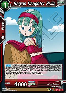Saiyan Daughter Bulla - BT4-014 - C