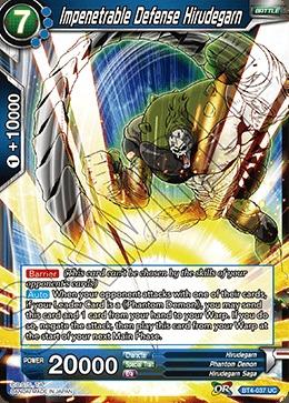 Impenetrable Defense Hirudegarn (Foil) - BT4-037 - UC