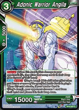 Adonic Warrior Angila - BT4-062 - C