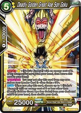 Deadly Golden Great Ape Son Goku - BT4-080 - C