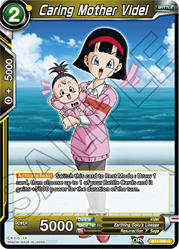 Caring Mother Videl - BT4-090 - C