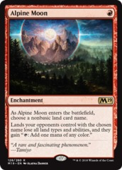 Alpine Moon - Foil
