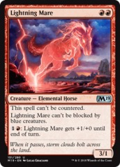 MTG Core Set 2019 foil Transmogrifying Wand
