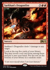 Sarkhan's Dragonfire - Planeswalker Deck Exclusive
