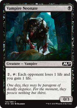 Vampire Neonate - Foil