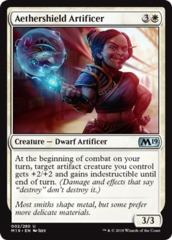 Aethershield Artificer on Channel Fireball