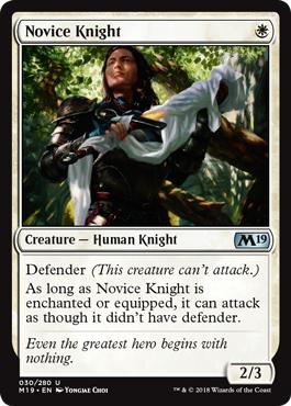 Novice Knight