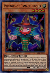 Performage Damage Juggler - BLRR-EN059 - Ultra Rare - 1st Edition