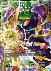 Piccolo Jr. // Piccolo Jr., Evil Reborn - SD4-01 - ST