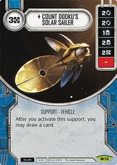 Count Dooku's Solar Sailer