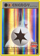 Double Colorless Energy - 90/108 - International Championships Promo