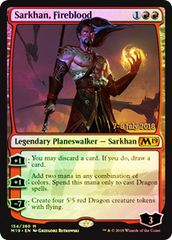 Sarkhan, Fireblood (M19 Prerelease Foil) 7-8 July 2018 on Channel Fireball