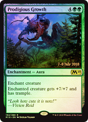 Prodigious Growth - Foil - Prerelease Promo
