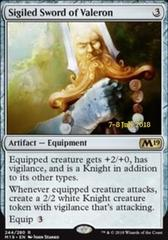Sigiled Sword of Valeron - Foil - Prerelease Promo
