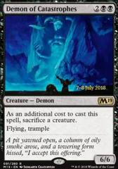 Demon of Catastrophes - Foil - Prerelease Promo