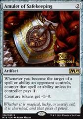 Amulet of Safekeeping - Foil - Prerelease Promo