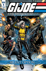 G.I. Joe: A Real American Hero Silent Option #1 (Of 4) (Cover A - Di)