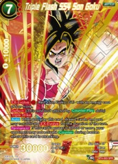 Triple Flash SS4 Son Goku (SPR) - BT4-003 - SPR