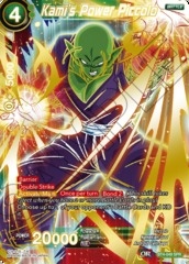 Kami's Power Piccolo (SPR) - BT4-049 - SPR