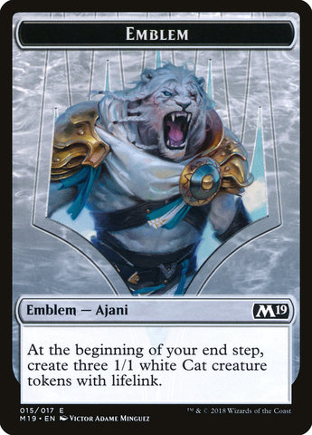 Emblem - Ajani