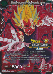 Glory-Obsessed Prince of Destruction Vegeta - P-063 - Promotion Cards